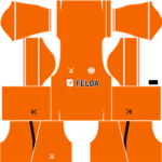 Felda United Dream League Soccer Kits 2017/2018