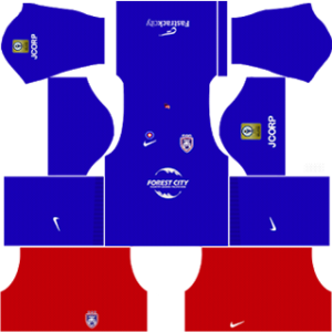 Johor Darul Takzim FC Kits 2016/2017 Dream League Soccer