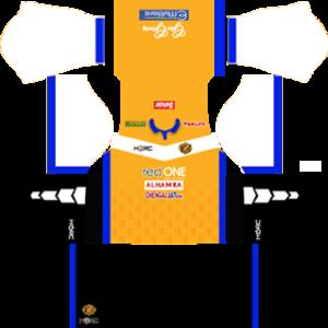 kelantan dls goalkeeper home kit 2016-2017