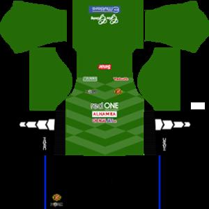 kelantan dls goalkeeper third kit 2016-2017 (V2)
