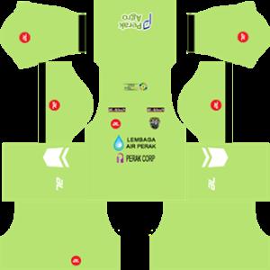 perak dls goalkeeper home kit 2016-2017