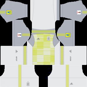 spain 2018 world cup goalkeeper away kit