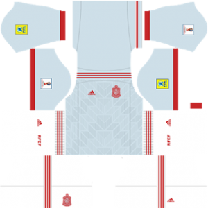 spain 2018 world cup third kit