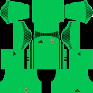 Argentina Goalkeeper Away Kit 2015-2016