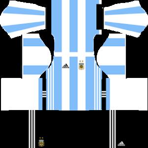 Argentina Kits 20152016 Dream League Soccer