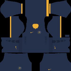 Australia Away Kit 2015-2016