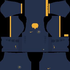 Australia Away Kit 2016-2017