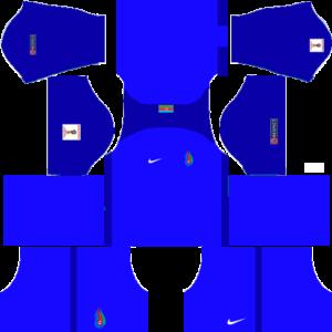 Azerbaijan 20172018 Dream League Soccer Kits