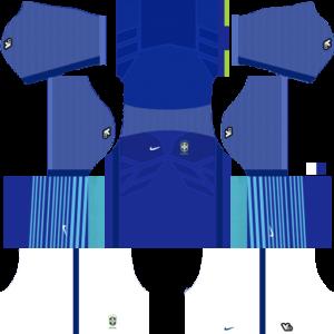 Brazil Away Kit 2015-2016