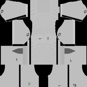 Brazil Goalkeeper Home Kit 2015-2016