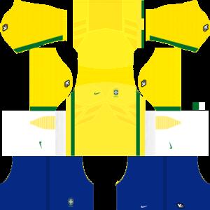 Brazil Kits 20152016 Dream League Soccer