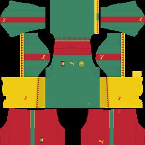 Cameroon 20172018 Dream League Soccer Kits
