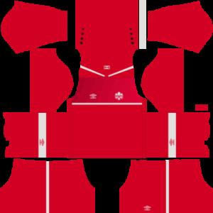 Canada 20172018 Dream League Soccer Kits