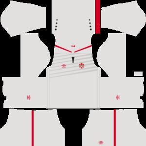 Canada Away Kit 2017-2018