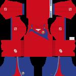 Costa Rica Kits 2015-2016 Dream League Soccer