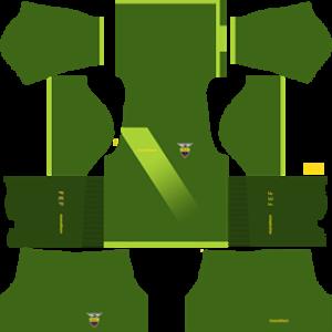Ecuador Goalkeeper Home Kit 2013-2014