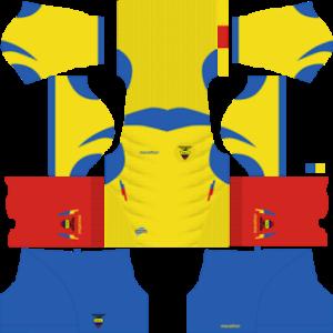 Ecuador Kits 20142015 Dream League Soccer