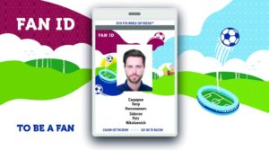 Fifa world cup 2018 fan id