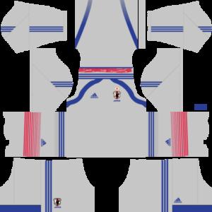 Japan Goalkeeper Home Kit 2015-2016