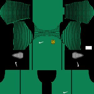 Malaysia Goalkeeper Home Kit 2016-2017