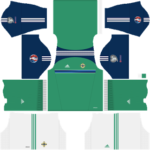 Northern Ireland Kits 2016/2017 Dream League Soccer