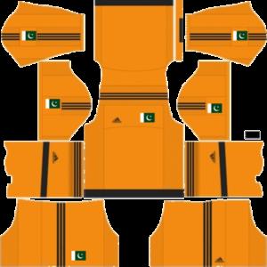 Pakistan Goalkeeper Away Kit 2016-2017