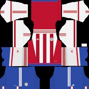 Paraguay 2017 2018 Dream League Soccer Kits