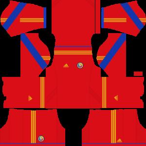 Romania Away Kit 2017-2018