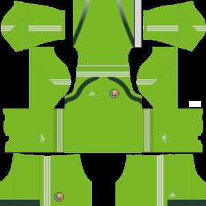 Romania Goalkeeper Home Kit 2017-2018