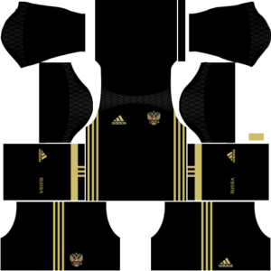 Russia Goalkeeper Home Kit 2016-2017