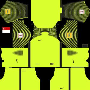 Singapore Goalkeeper Home Kit 2016-2017
