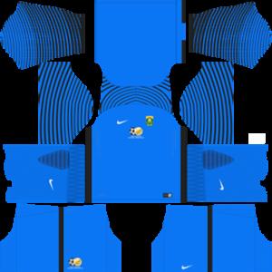 South Africa Goalkeeper Home Kit 2016-2017