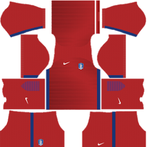 South Korea Kits 2017 Dream League Soccer