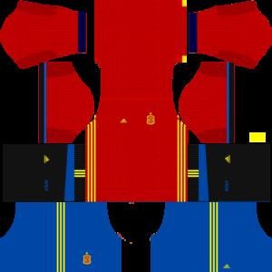 Spain Kits 20162017 Dream League Soccer