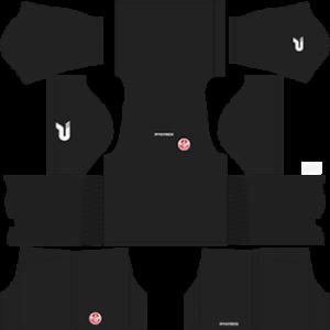 Tunisia Goalkeeper Home Kit 2016-2017