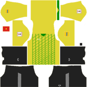 Vietnam Goalkeeper Home Kit 2013-2014