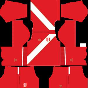 peru 2018 world cup away kit