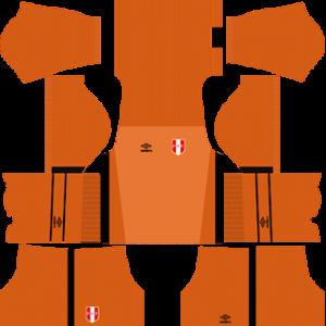 peru 2018 world cup goalkeeper home kit
