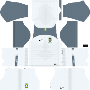 Brazil Goalkeeper Home Kit World Cup 2018