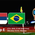 Brazil vs Serbia Live Streaming Fifa World Cup 2018
