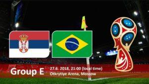 Brazil vs Serbia Live Streaming Fifa World Cup 2018
