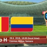 Colombia vs Senegal Live Streaming Fifa World Cup 2018