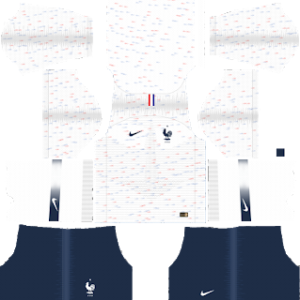 France Away Kit World Cup 2018