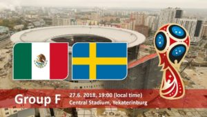 Mexico vs Sweden Live Streaming Fifa World Cup 2018