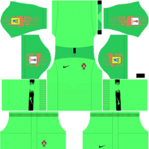Portugal Goalkeeper Away Kit World Cup 2018