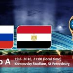 Russia vs Egypt Live Streaming Fifa World Cup 2018