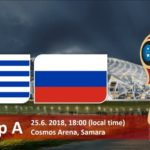 Russia vs Uruguay Live Streaming Fifa World Cup 2018