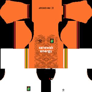 Sarawak DLS Goalkeeper Away Kit 2017-2018