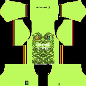 Sarawak DLS Goalkeeper Home Kit 2017-2018