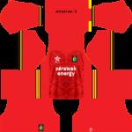 Sarawak Dream League Soccer Kits 2017-2018